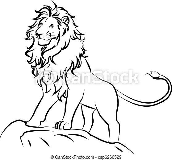 lion - csp6266529
