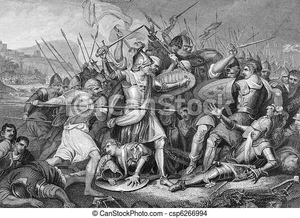 Battle of Agincourt - csp6266994