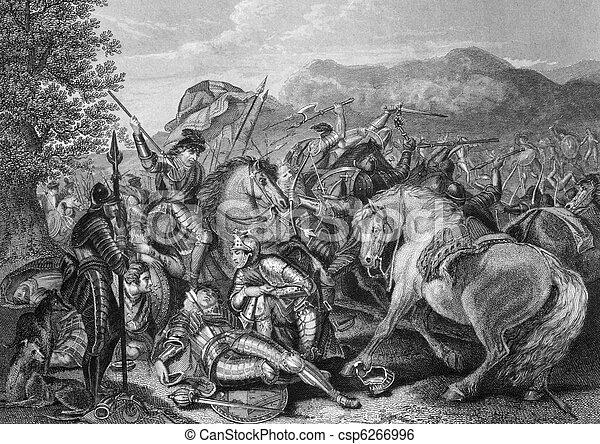 Battle of Otterburn - csp6266996