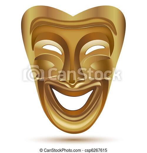 entertainment mask - csp6267615