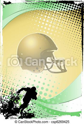 american football - csp6269425