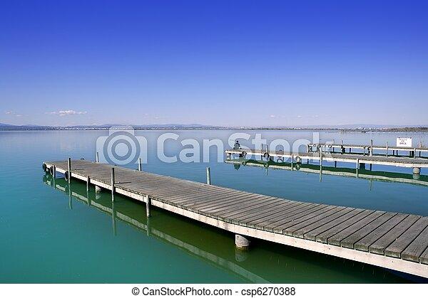 Albufera Valencia lake wetlands mediterranean Spain - csp6270388