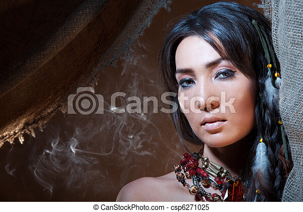 American Indian fortune teller - csp6271025