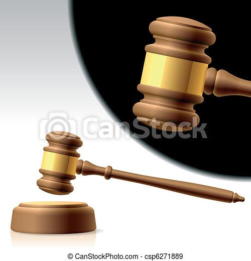 Judges gavel - csp6271889