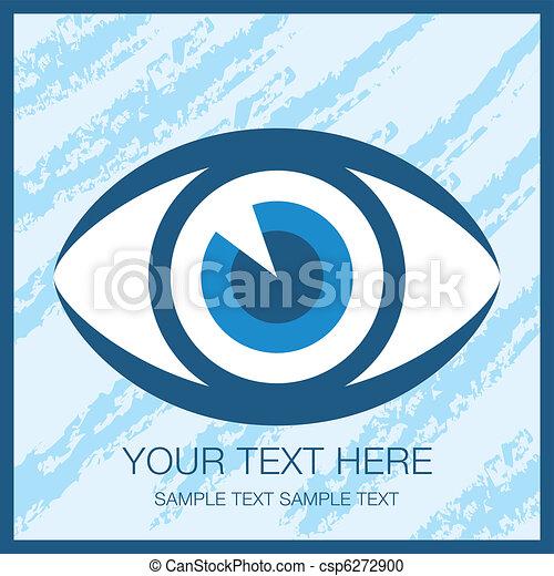 Striking eye design. - csp6272900