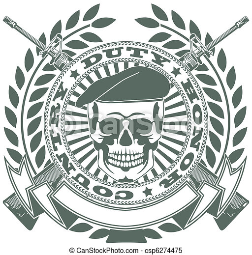 Army symbol - csp6274475