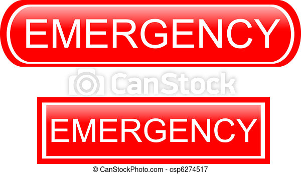 Emergency sign icon - csp6274517