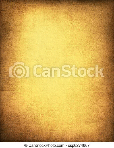 Golden Yellow Background - csp6274867
