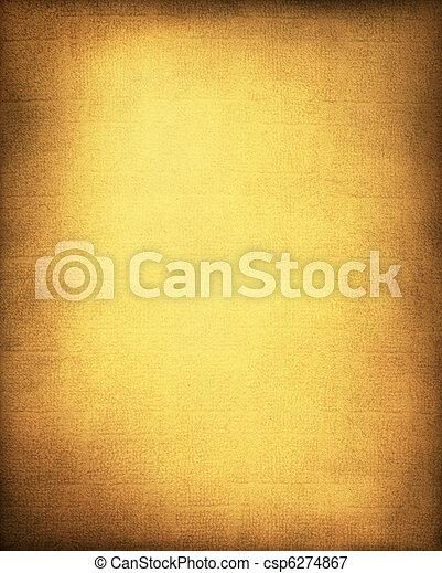 Golden Yellow Background - csp6274867
