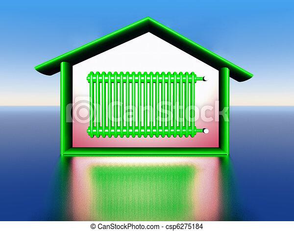 house warming - csp6275184