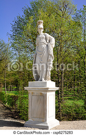 photos de grec sculpture jardin baroque statue grec femme csp6275283 recherchez des. Black Bedroom Furniture Sets. Home Design Ideas