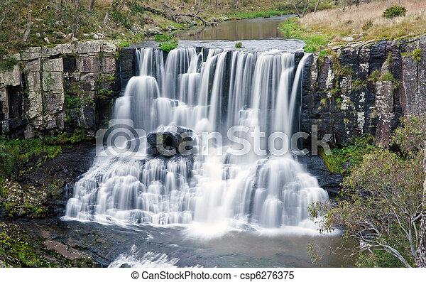 ebor falls waterfall  - csp6276375