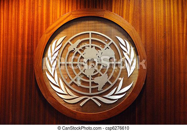 United Nations logo - csp6276610