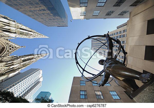 Fifth Avenue, Manhattan, New York City - csp6276787