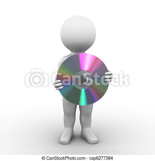 CD Compact Disc - csp6277384
