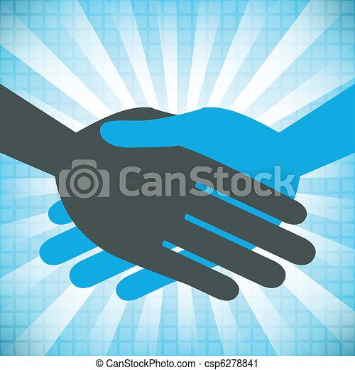 Handshake design.  - csp6278841