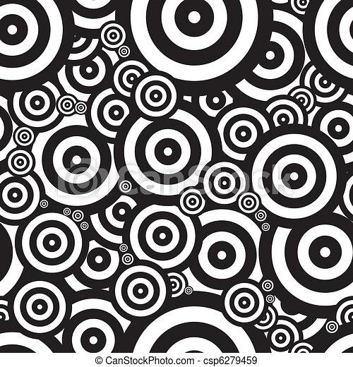 Seventies psychedelic retro - csp6279459