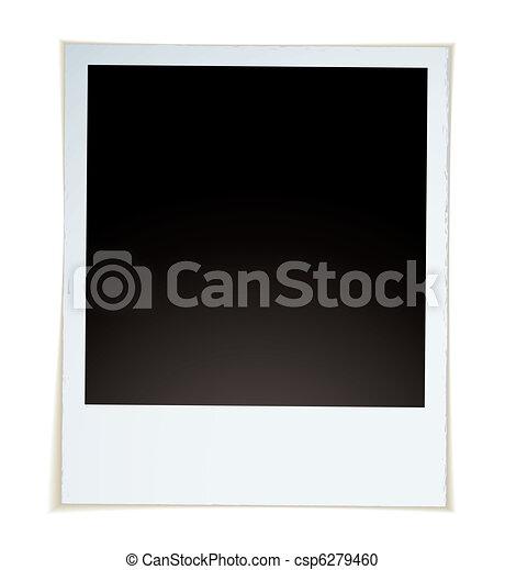 Retro instant photograph - csp6279460