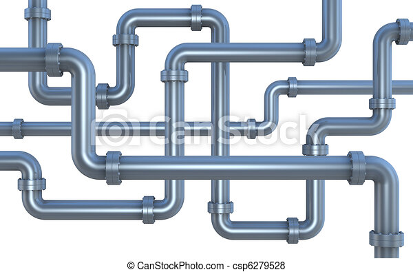 lot of pipes - csp6279528