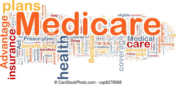 Medicare background concept - csp6279568