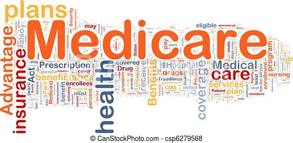 Medicare background concept - csp6279568