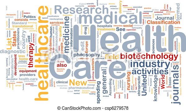 Health care background concept - csp6279578