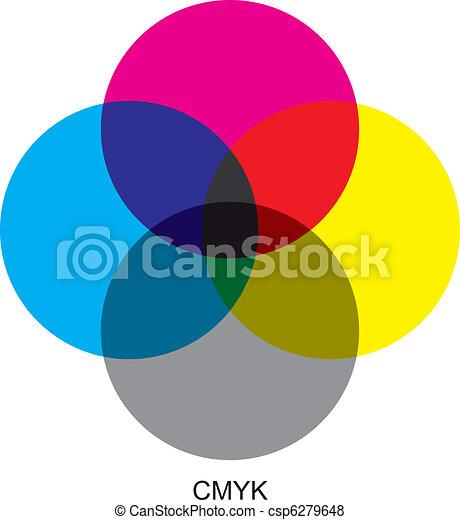 CMYK color modes - csp6279648