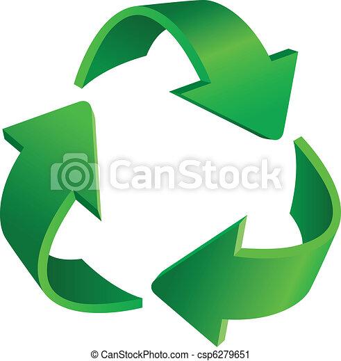 Recycling arrows - csp6279651