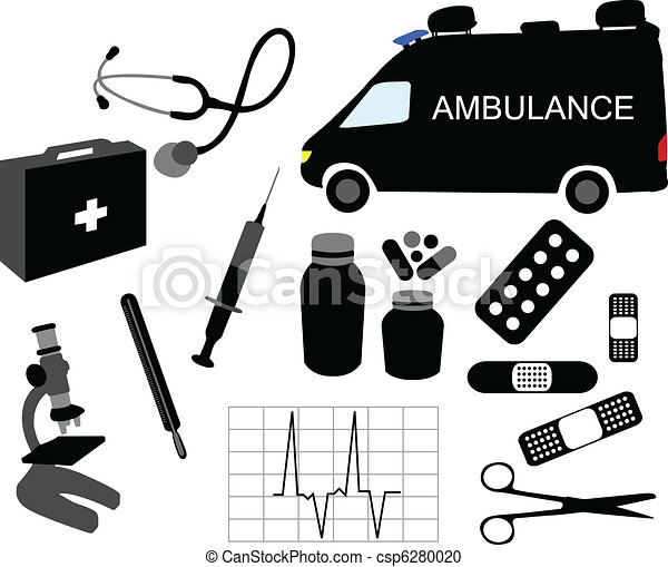 Equipment Drawing Vector Medical Equipment