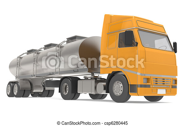 Tanker Truck - csp6280445