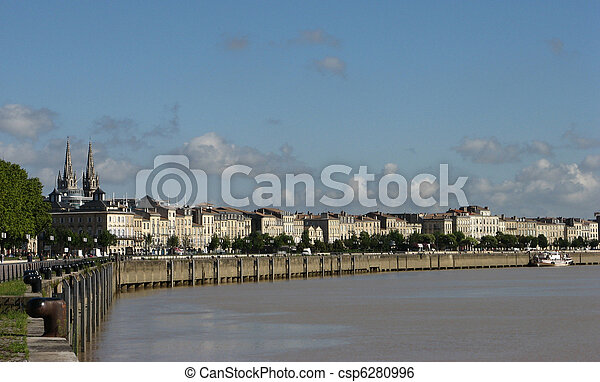 Bordeaux Quay - csp6280996