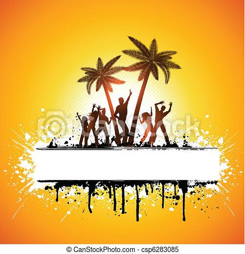 Grunge summer party - csp6283085