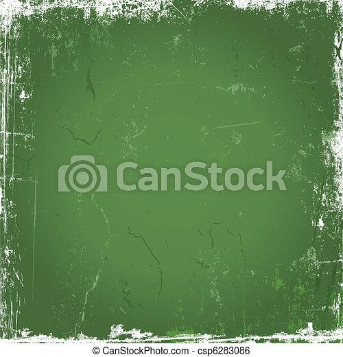 Green grunge background - csp6283086