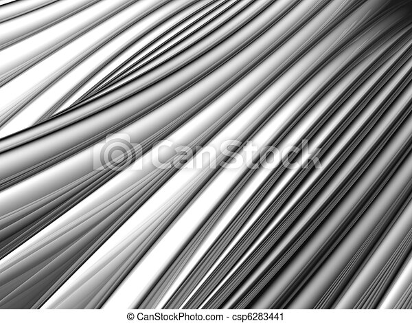 Abstract silver aluminium stripe background - csp6283441