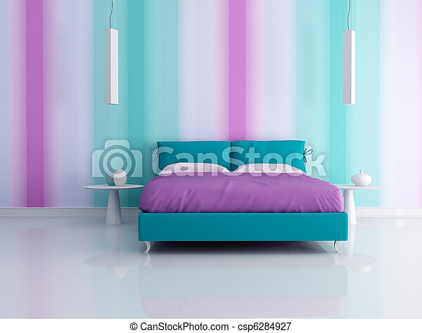 fashion bedroom - csp6284927