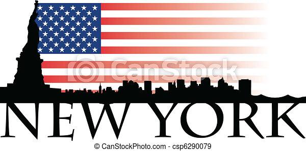New York flag - csp6290079
