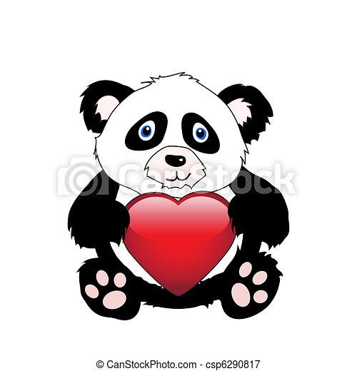 coeur panda