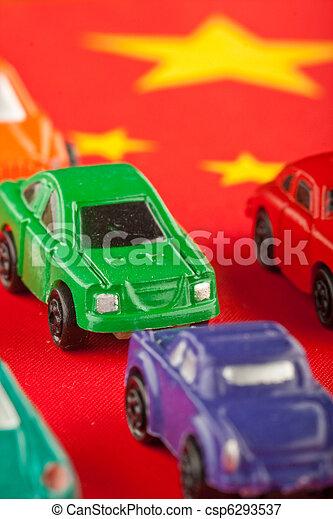 Cheap Chinese car imports (3) - csp6293537