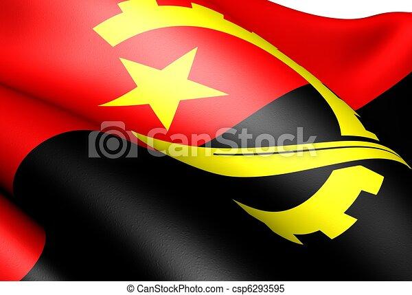 Angola Flag Clip Art
