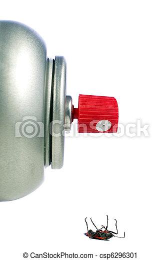 Dead Bug and Spray Can - csp6296301
