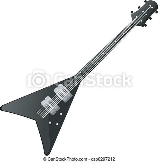Electric guitar - csp6297212