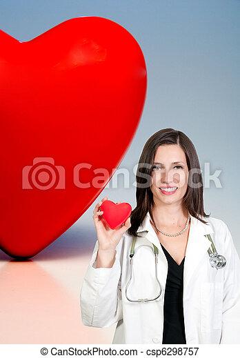 Female Cardiologist - csp6298757