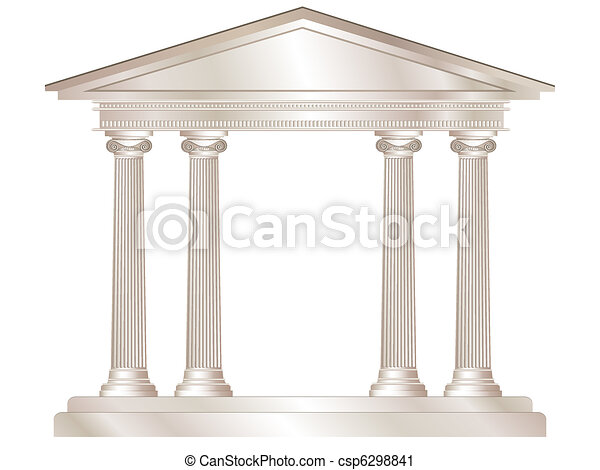 Greek temple - csp6298841