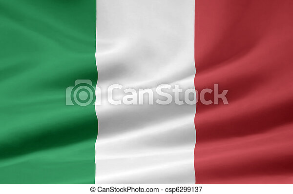 Flag of Italy - csp6299137