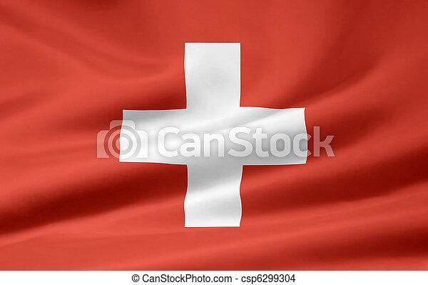 Flag of Switzerland - csp6299304