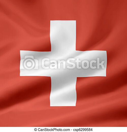 Flag of Switzerland - official form - csp6299584