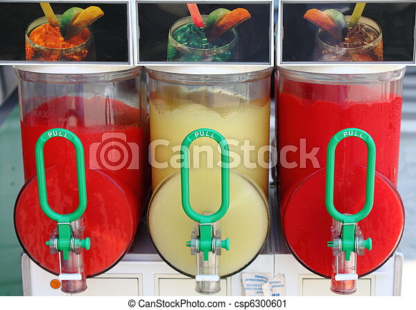 Crushed ice drink dispenser - csp6300601
