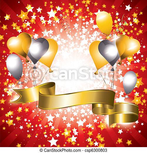 Celebration banner - csp6300803