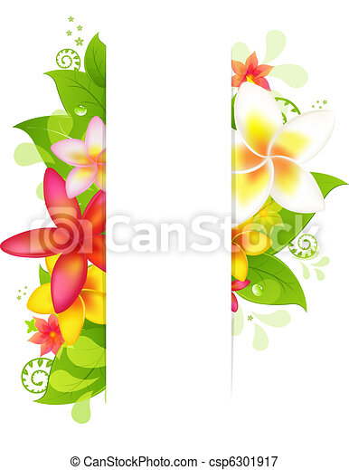Natural Background With Flower - csp6301917