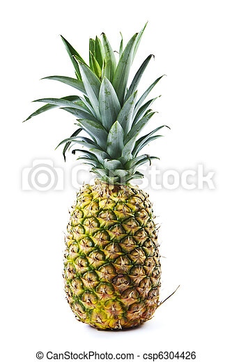 Whole Pineapple - csp6304426